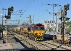 RailPictures.Net Photo: 66071 Euro Cargo Rail EMD JT42 Class 66 at poissy, France by Patrick MEUNIER:
