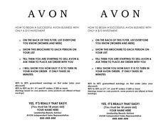 avon  flyers | Avon Business Discount - DOC