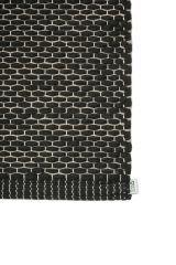 Puuvillamatot Eko musta/natural 80x250cm