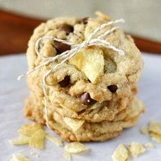 Vegan Chocolate Chip Potato Chip Cookies
