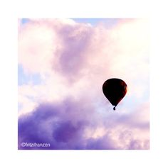 Hot Air Balloon 5x5 Photo van fritzifranzen op Etsy, €7.00