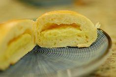 Japanese Cream Pan (Japanese custard filled sweet bread buns)