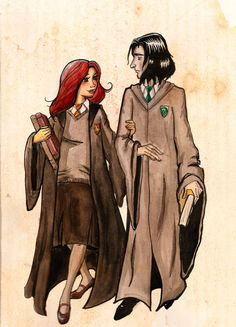 young lily and snape