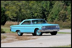 1963 Ford Galaxie 500XL Fastback R-Code 427/425 HP, 4-Speed