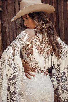 Tucson rose by Rue De Seine Lace Bridal, Bridal Gowns, Wedding Gowns, Bohemian Wedding Dresses, Boho Bride, Country Western Wedding Dresses, Country Dresses, Bohemian Mode, Boho Chic