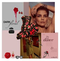 """Red rose..."" by katelyn999 ❤ liked on Polyvore featuring Anja, H.Stern, Emanuel Ungaro, Philippe Ferrandis, Karen Walker, Alexander McQueen, Dolce&Gabbana, Judith Leiber, Xerjoff and vintage"