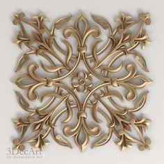 3D Decorative Onlay Model - 3D Model