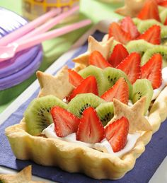 Tarta de frutas #receta #fiestas #navidad