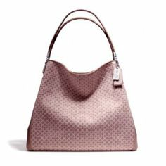 Coach Madison Phoebe Shoulder Bag in Op Art Sateen Fabric