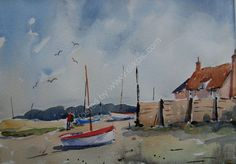 Burnhan Overy Staithe        by Robin Macdonald