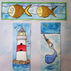 Summer style bookmarks