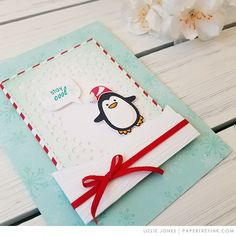Throwback Thursday: Winter Penguin Stamp Set – Papertrey Ink