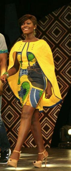 Look at this Classy Africa fashion Short African Dresses, Latest African Fashion Dresses, African Print Dresses, African Print Fashion, Africa Fashion, African Attire, African Wear, African Style, African Outfits