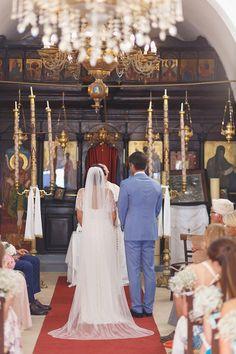 Wedding in Santorini Santorini Wedding, Lace Wedding, Wedding Dresses, Santorini Greece, Destination Wedding, Fashion, Bride Dresses, Moda, Bridal Gowns