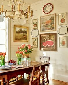 Breakfast plate design dining rooms 19 Ideas for 2019 Dining Room Wall Decor, Room Decor, Dining Rooms, Kitchen Decor, Kitchen Tables, Kitchen Ideas, Kitchen Design, Traditional Kitchen, Traditional House