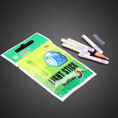 50 개 4.5*37 미리메터 낚시 발광 플로트 밤 형광 플로트 글로우 스틱 Lightstick BHU2