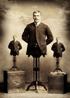 Lester's friends in the Pants-forgetters Club.                 Victorian Surrealism