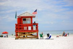 Siesta Key Beach in Florida