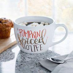 Pumpkin Spice For Life Mug | Kirklands