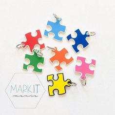 Childrens Puzzle Piece Jewelry Gift Unisex Kids Autism Super Hero Bracelet