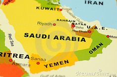 Saudi Arabia map - Middle East.   - Explore the World with Travel Nerd Nici, one Country at a Time. http://TravelNerdNici.com