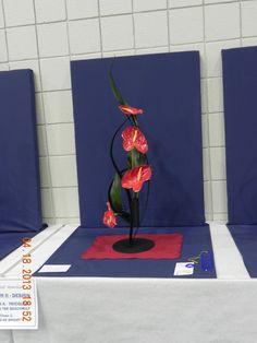National Garden Clubs.  North End Council of Garden Clubs, Alabama. Flower Show 2013.