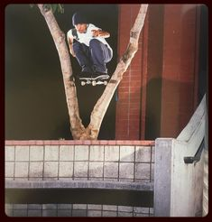 "Skate Mag Preservation Society (@lookbacklibrary) sur Instagram : ""@adrianlopez thru the tree for @c1rca from issue 2 of @theskateboardmag_"""