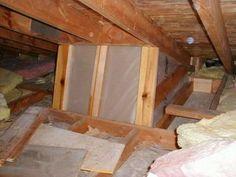 Installing a skylight - light shaft Skylight Blinds, Skylights, Basement Renovations, Home Renovation, Hidden Door Bookcase, Hidden Doors, Attic Bedroom Storage, Roof Light, Bonus Rooms
