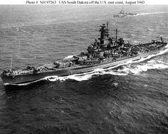 USS South Dakota (BB-57)