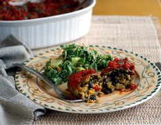 Collard-Wrapped Yellow Rice and Black Bean Enchiladas from Wild About Greens (& Giveaway!)   Diet, Dessert and Dogs