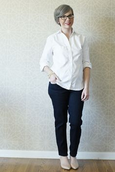 White Archer, grainline studio, handmade wardrobe