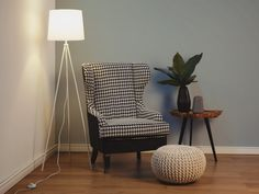 Siro lattiavalaisin - valkoinen SAMBRA_250536 Beliani, Decor, Chair, Furniture, New Homes, Accent Chairs, Home Decor