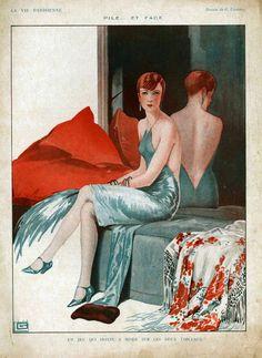 Georges Léonnec (1881 – 1940). La Vie Parisienne, 1926. [Pinned 1-viii-2015]