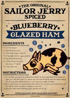 Sailor Jerry Glazed Ham