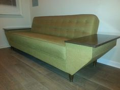 Mid Century, Danish Modern Sofa #AmericanDanishstyle