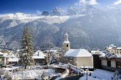Chamonix, in the french Alps