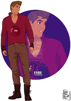 Disney University - Philip by Hyung86.deviantart.com   Philip is the boyfriend of Aurora, he is studying Political Science as his father some years ago. He aslo practice fencing and loves Tv series and adventure video games. His favorites are The Legend of Zelda and Skyrim (Fus Ro Dah Maleficent! XD)