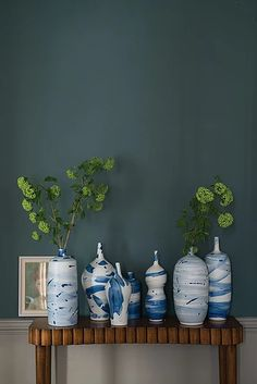 Farrow & Ball Inchyra Blue love this color front guest room paint… Farrow Ball, Farrow And Ball Paint, Farrow And Ball Living Room, Farrow And Ball Kitchen, Inchyra Blue Farrow, Farrow And Ball Inchyra Blue, Room Colors, Wall Colors, Paint Colors