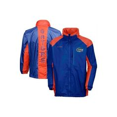 Columbia Florida Gators Royal Blue 31 Blast Full Zip Jacket ($60) via Polyvore