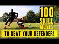 Simple Soccer Move To Beat Any Defender In Soccer - YouTube