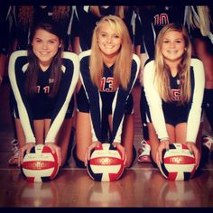 Volleyball picture idea! <3 Captains for programs on senior night...or seniors.