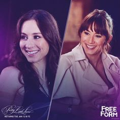 Pretty Little Liars - Spencer Hastings Flashback + Flash forward.   Don't miss the PLL winter premiere Tuesday, January 12 at 8pm|7c on Freeform, the new name for ABC Family.  gif