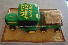 tractor cake hauling rice crispy treats
