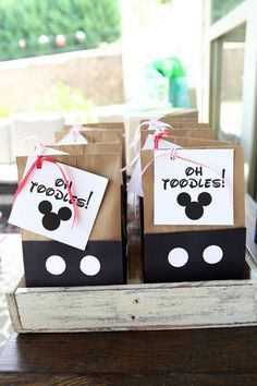 Mickey Mouse Birthday Party by Katie Bower -- so of course it is adorable and fantastic!