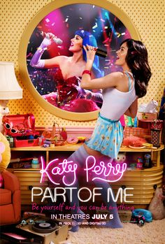 """comment) - """"Katy Perry: Part of Me"""" is a Documentary/Musical film directed by D. Lipsitz, released on July 05 of 2012 in the USA , starring Katy Perry. Alanis Morissette, American Idol, Britney Spears, Mtv, Katy Perry Fotos, Peliculas Audio Latino Online, Cinema, Movie Posters, Entertainment"""