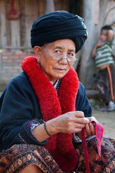 Twinkle In The Eye - Muang Sing, Louangnamtha Laos by Steve Saba