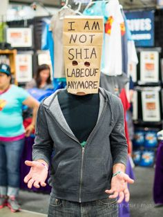 Not Shia LaBeouf | SLC FanX 2014 Day 2