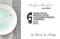 Miren de Abiega es parte de Anfora Studio para Zsona Maco México Arte Contemporáneo 2017.  ¡Te invitamos a que conozcas su trabajo en este evento tan importante!