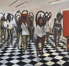 Noah Davis Is Gone; His Paintings Continue to Hypnotize - The New York Times Dancing Day, Venice Biennale, Mark Rothko, Oui Oui, Ballet Dancers, Girls Wear, Ny Times, Art History, Black History