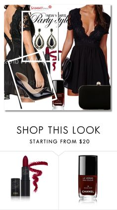 """""""25. sammydress.com/?lkid=322890"""" by goldenhour ❤ liked on Polyvore featuring Senna Cosmetics and Chanel"""